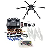QWinOut DIY FPV Drone Multicopter ARF Unassembly Kit : Hexacopter + APM 2.8 Flight Controller + GPS + AT1010CH TX&RX (No Battery and Charger)