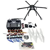 QWinOut DIY FPV Drone Multicopter ARF Unassembly Kit : Folding Hexacopter + APM 2.8 Flight Controller + GPS + AT1010CH TX&RX (No Battery and Charger)