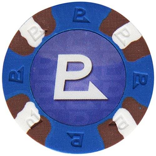 - Trademark Poker NexGEN 6000 Series PRO Classic Style Poker Chips (Set of 50), 9gm, Blue