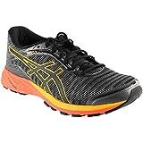 Cheap ASICS Men's Dynaflyte Running Shoe, Carbon/Black/Citrus, 13 M US