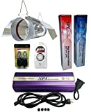 SPL Horticulture Stchk 1000 Hydroponic 400w Watt Grow Light Digital Dimmable HPS System for Plants Cool Tube Hood Reflector Hood Set Review