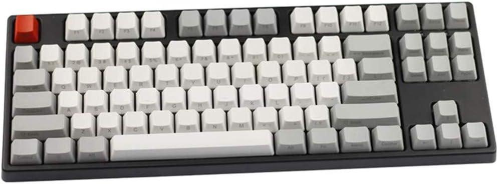 Sunzit Keycaps, 87 Tecla PBT Keycap Teclado Mecánico Lado ...