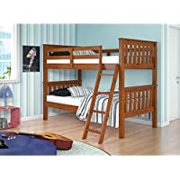 Twin Over Twin Mission Bunk Bed