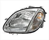 Multiple Manufacturers OE Replacement Mercedes-Benz SLK230//SLK32//SLK320 Driver Side Headlight Assembly Composite Partslink Number MB2502127