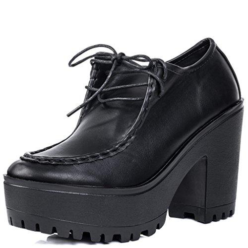 Lacet À Talon Bloc Bottines Chaussures Gr 40