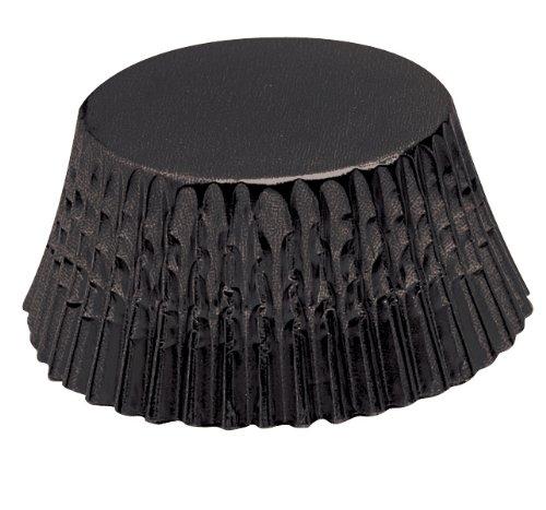 Fox Run 7104 Black Foil Bake Cups, Standard, 32 -