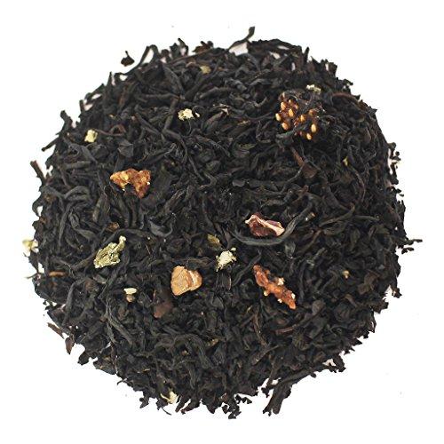 The Tea Farm - Sweet Chocolate Strawberry - Premium Fruit Loose Leaf Black Tea Blend (2 Ounce Bag)