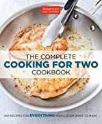 650 Recipes forEVERYTHINGYou'll Ever Want to Make.  Because smaller families shouldn't have to rely on recipes built for four or six, America's Test Kitchen has reengineered 650 of our best recipes to serve just two. Over the years we've discovered...