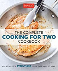 650 Recipes for EVERYTHING You'll Ever Want to Make.  Because smaller families shouldn't have to rely on recipes built for four or six, America's Test Kitchen has reengineered 650 of our best recipes to serve just two. Over the years we've di...