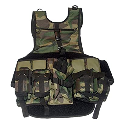 GXG Deluxe Camo Paintball Tactical Vest
