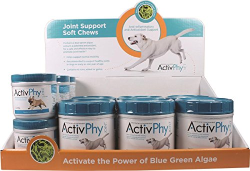 Activphy 7200453 12 Piece Soft Chews Joint Support for Dogs Display Beef Liver by ActivPhy (Image #1)