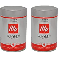 意利illy咖啡豆 意大利原装进口意式咖啡豆 中度烘焙 250克*2罐装默认发豆