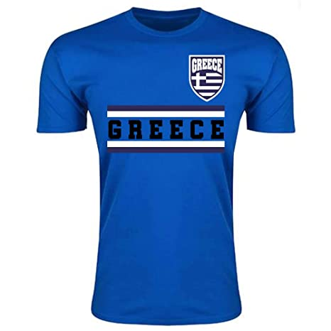 9b907e8c867 Image Unavailable. Image not available for. Color  UKSoccershop Greece Core  Football Country T-Shirt ...