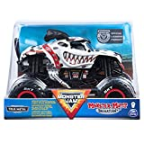 Toys : Monster Jam, Official Monster Mutt Dalmatian Monster Truck, Die-Cast Vehicle, 1:24 Scale