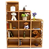 Bamboo 12-Cube Storage Unit,shelf