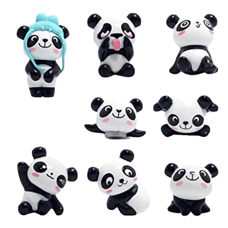 8 Piezas Cute Panda Imanes de Nevera Imanes de Nevera Pegatinas ...