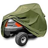 Pyle PCVLTR11 Armor Shield Lawn Tractor Mower Protective Storage Cover, Indoor/Outdoor, Universal Size