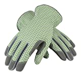 Safety Works 031G/M Mud Zig Zag, Medium, Green/White