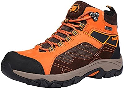 Hiwalk Women's Taurus Professional Waterproof Nubuck Suede Hiking Trekking Boot