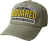 DSQUARED2 Men's Fight For Freedom Baseball Cap Military One Size