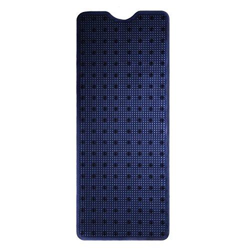 Bath Grip 16' (Waroom Home Non-Slip Bathtub and Shower Mat, Machine Washable Anti-Bacterial PVC Bath Mat, 40