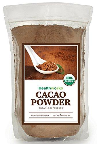 Healthworks Cacao Powder Organic, 5lb by Healthworks
