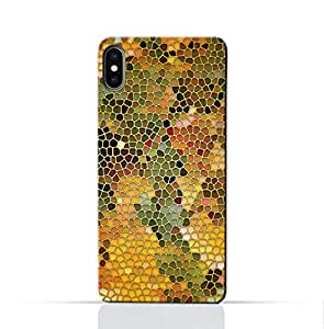 AMC Design Oppo R13 Mobile Protective Case with Stained Art Glass Pattern - Multi Color
