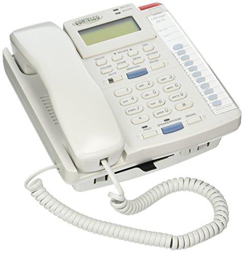 Cortelco 221021-TP2-27E 1-Handset Landline Telephone (Cortelco 2 Line Phone)