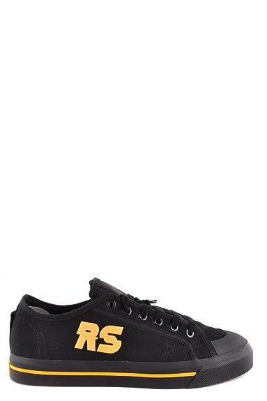 adidas by RAF Simons Herren BB6727CBLACKCORYEL Schwarz Stoff Sneakers