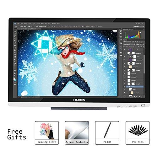 Huion 21.5 Inch Pen Display IPS Interactive Pen Monitor Grap