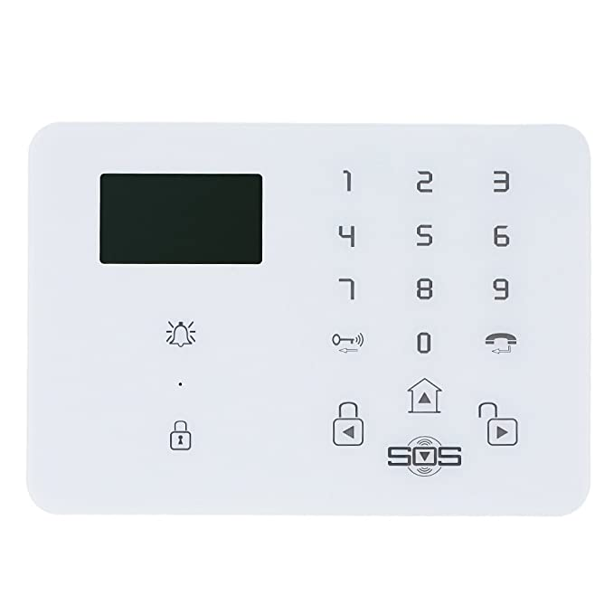 Amazon.com : King Pigeon 3G Wireless Home Security Alarm System Touch Keypad Alarm Panel with LCD Android iOS Burglar House Smart Kit with Door PIR Detector ...