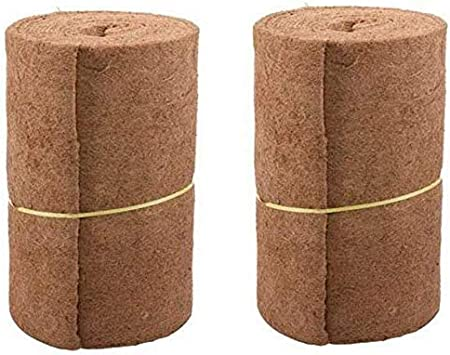 Amazon Com Inso Coco Liner Bulk Roll Natural Coir Doormat Coco Fiber Roll Flower Pot Coconut Mat For Home Garden Wedding Decoration 1 Roll Garden Outdoor