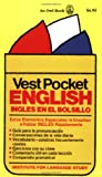Vest Pocket English, Cortina Institute of Languages Staff and Bernard Blau, 0805015132