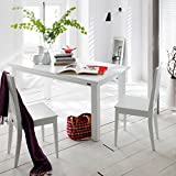 NovaSolo Halifax Extension Table, White