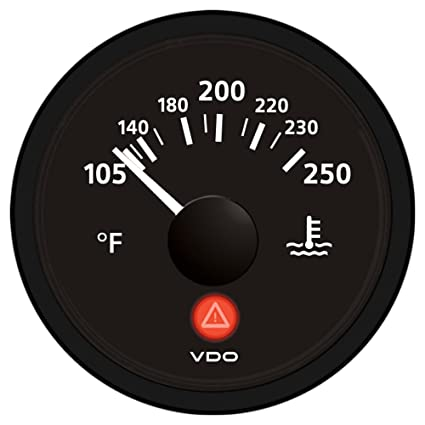Amazon Vdo A2c53413355s Temperature Gauge Automotive. Vdo A2c53413355s Temperature Gauge. Wiring. Vdo Temperature Gauge Wiring Diagram Outside At Scoala.co