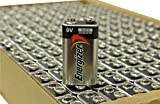 Energizer E522 Max 9V Alkaline battery Exp. 03/18 or later Made in USA - 156 Count (Whole Tray)