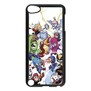 Chibi Marvel iPod Touch 5 Case Black Delicate gift JIS_317320