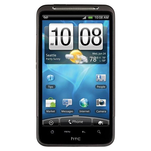 HTC Inspire 4G Unlocked GSM LTE Android Smartphone - Gray - AT&T - No Warranty (Best Wifi Hotspot App For Rooted Android)