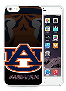 Southeastern Conference SEC Football Auburn Tigers 2 White New Personalized Custom iPhone 6plus 5.5 Inch Silicone TPU Case
