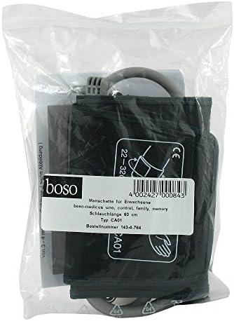boso Zubehör - Standard Manschette für Blutdruck – Klettmanschette mit integriertem Schlauch – Zugbügelklettenmanschette 22-32 cm