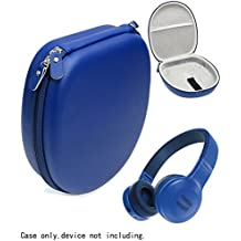 Blue Case for JBL E45BT, E55BT, E55BT Quincy Edition, LilGadgets, Puro Sound Labs Kids Headphones, Satechi Aluminum, bebe Boom Wireless Headphones, SONY MDRXB950, MDRXB650; Sennheiser MM550X
