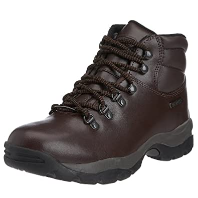 brown walking boots