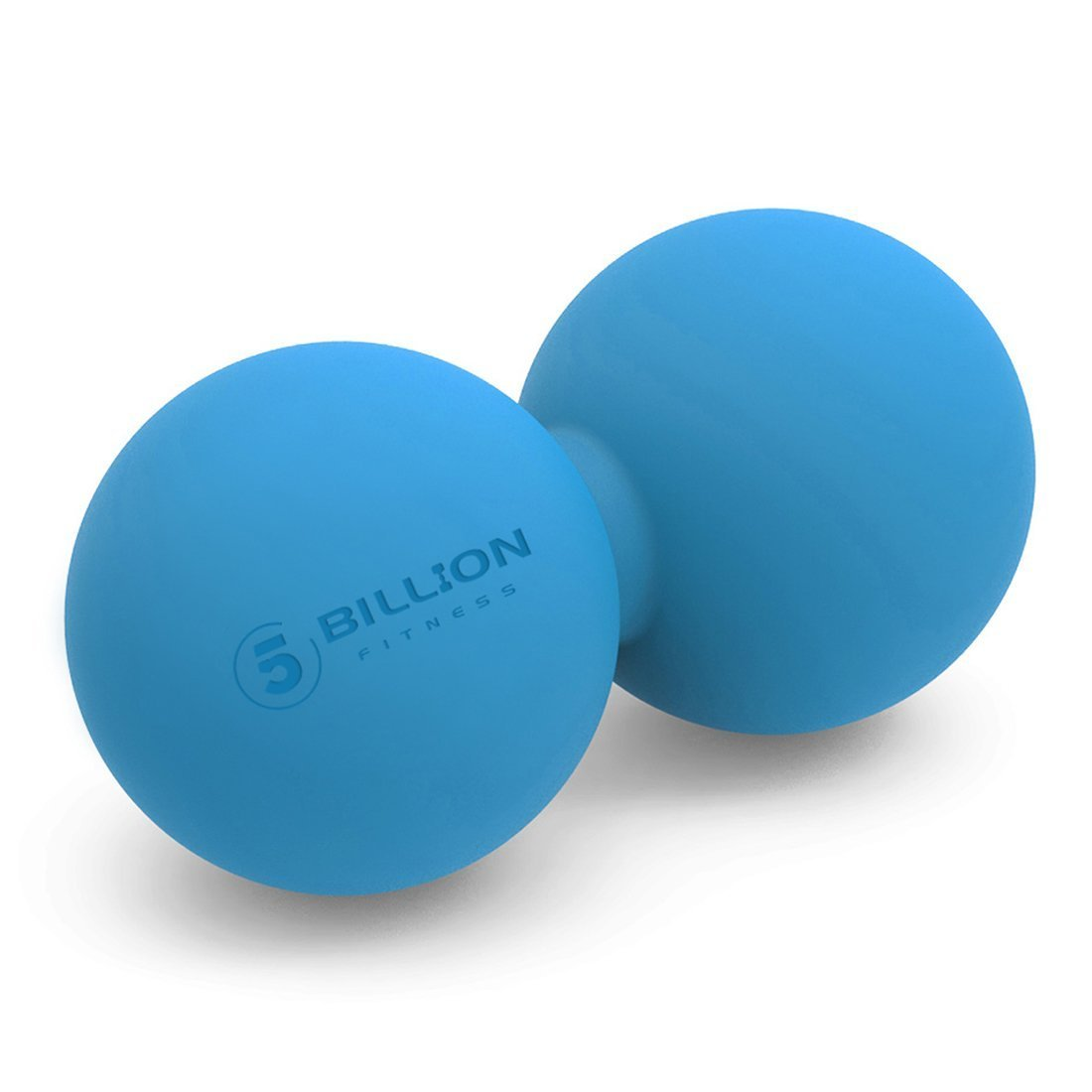 5BILLION Therapie Massage Ball - Doppel Massage Peanut Ball & Mobility Ball für Körperliche Therapie - Hochdichte Massage-Tool für Deep Tissue, Myofascial Release, Muskel Entspannen, Accupoint Massage Accupoint Massage (Blau) 5BILLION FITNESS