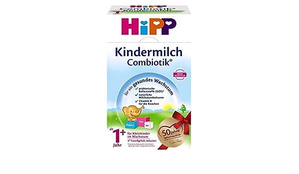 leche para bebés Hipp Bio Combiotik - de 1 año, 2-pack (2 x 600 g): Amazon.es: Alimentación y bebidas