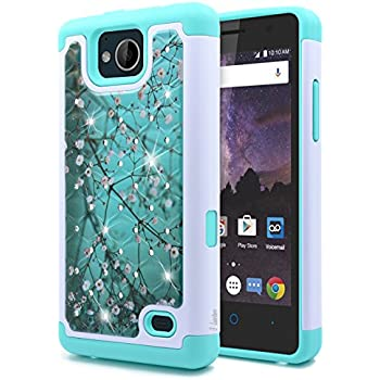 Premium Wallet Leather Phone Case For ZTE Tempo X Magnetic