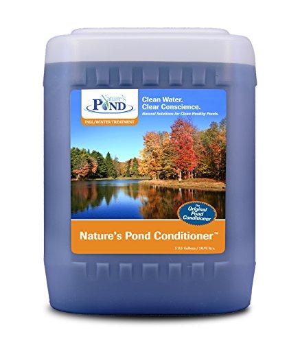 Koenders 30125X Nature's Pond Conditioner, 5 gallon (Fall/Winter Treatment)