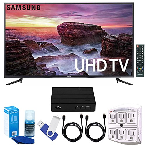 Samsung UN58MU6100 - 58-inch Smart MU6100 Series LED 4K UHD TV w/...