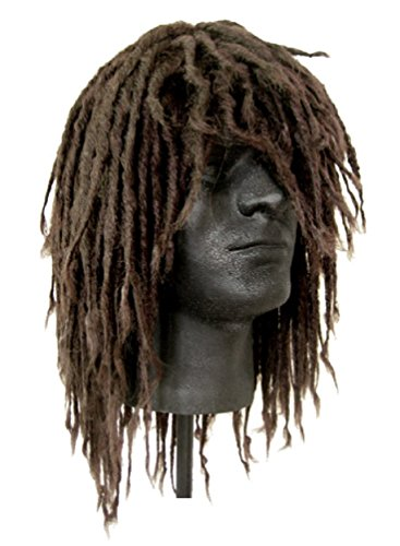 Men's Dreadlocks Surfer Wig (Brown) - Deluxe Adult Caveman Costumes