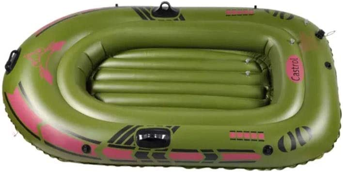 Amazon.com: BOOA - Barco hinchable doble portátil de color ...