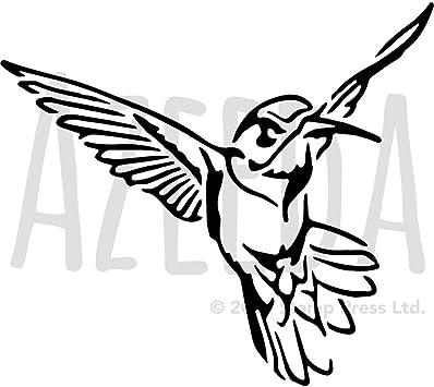 Tattoo Vorlage Kolibri Blumenbilder Steampunk